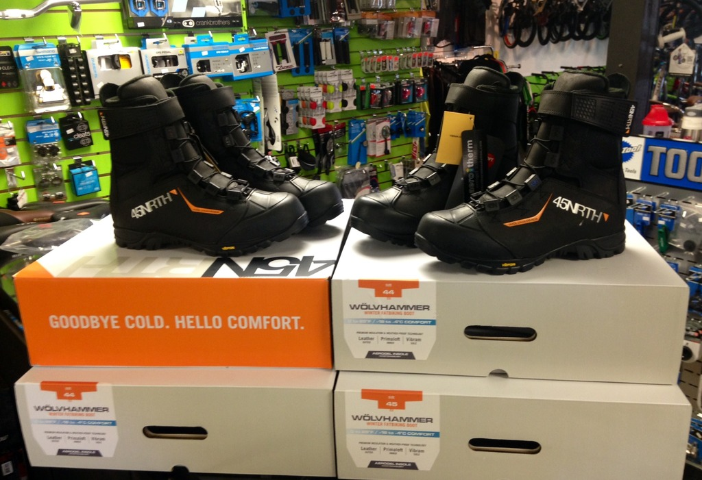 45nrth wolvhammer winter cycling spd boots