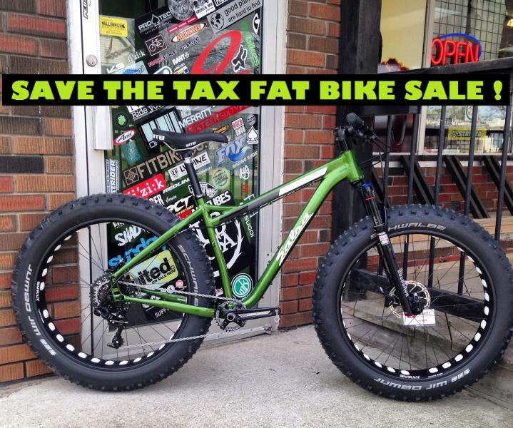 FAT BIKE SALE