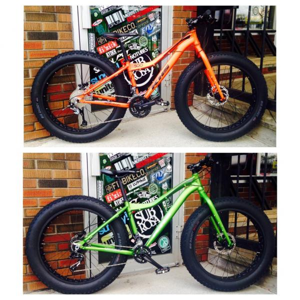 2016 KHS 4 season fat bikes