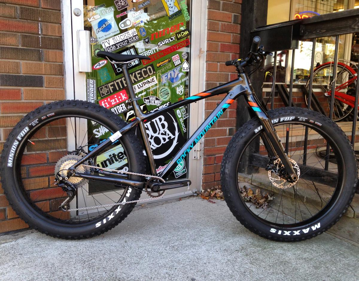 "2018 Rocky Mountain Suzi Q A50 27.5"" Fat Bike"